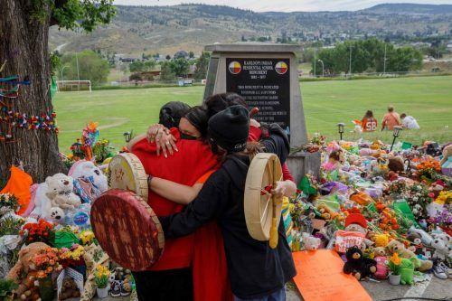 Bereits Ende Mai wurden in Kamploops Gräber von 215 indigenen Kindern entdeckt.