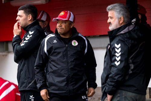 Bereits im Frühjahr 2017 agierte Eric Orie auf der Trainerbank des FC Dornbirn. Unter seiner Regie gelangen in zwölf Spielen immerhin fünf Siege und fünf Remis.stiplovsek