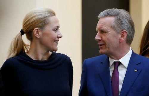 Bettina und Christian Wulff sind wieder ein Paar. Reuters