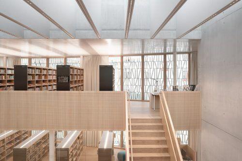Bibliothek Dornbirn von Dietrich/Untertrifaller u. Schmölz. amoretti