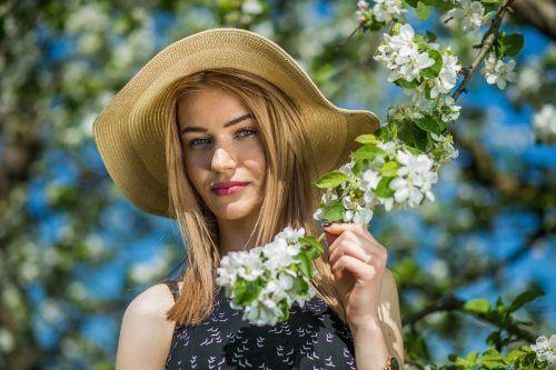 Blühende Obstbäume in Erwartung einer guten Ernte: Das wünschen sich die Landwirte jedes Jahr.VN/Steurer