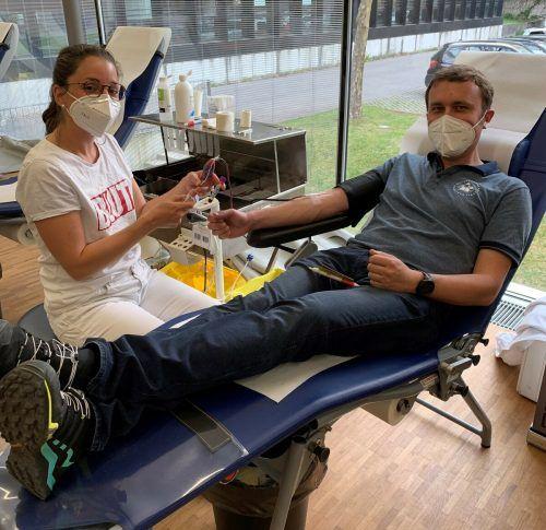 Blutspendeaktion in Mellau am 14. Juni.