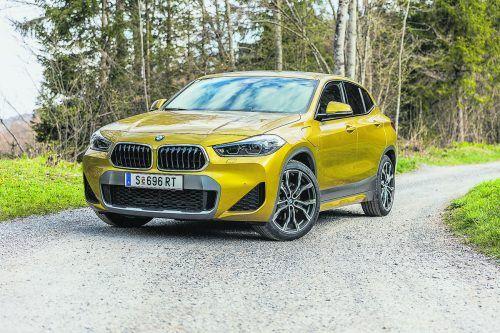 BMW elektrifiziert seine Baureihen. Den X2 bieten die Bayern auch mit einem Plug-in-Hybridantrieb an.VN/Sams
