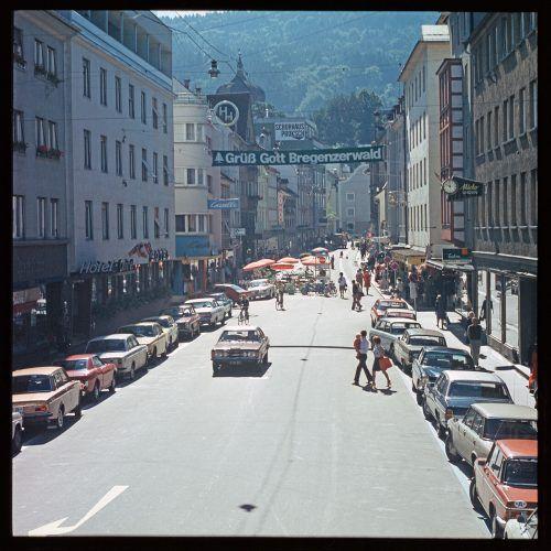Bregenz, Kaiserstraße, 1974