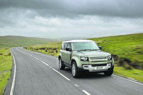 Brennstoffzelle: Jaguar Land Rover verbaut sie zu Testzwecken in einen Defender.werk