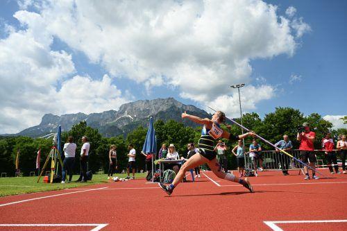 Chiara-Belinda Schuler war mit einer Goldenen, zwei Silbernen und einer Bronzenen die erfolgreichste VLV-Athletin in Salzburg.ÖLV