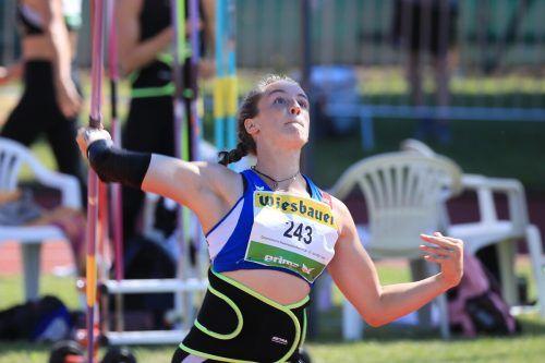 Chiara-Belinda Schuler warf den Speer auf 48,34 Meter.GEPA