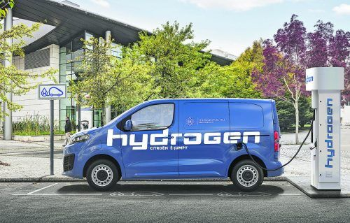 Citroën wird den ë-Jumpy auch in einer Brennstoffzellenversion anbieten. werk