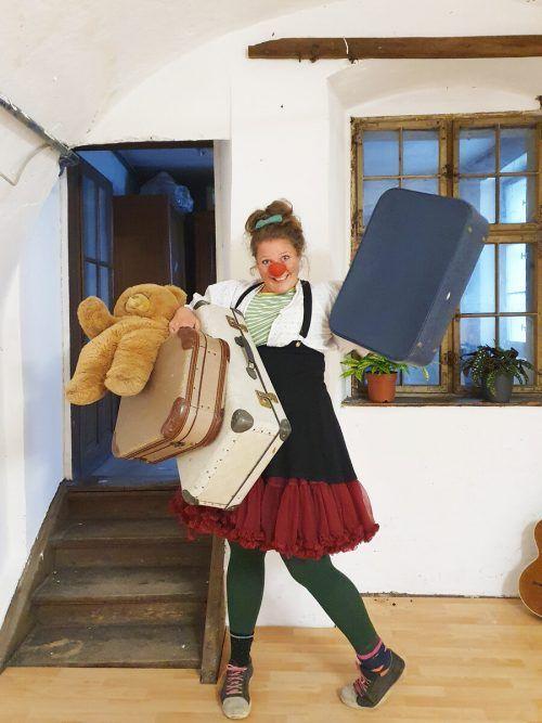 Clownfrau Lisa Suitner lädt als Lillilu zum dritten LisaFestival.Veranstalter