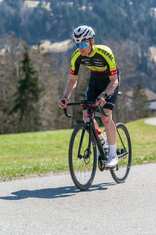 Colin Stüssi wurde für seine aktive Fahrweise belohnt.stiplovsek