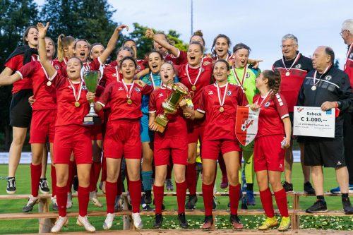 Cupsieger FC Dornbirn blieb in allen Spielen ohne Gegentor. Im Finale gab es ein 7:0 gegen die SPG Vorderland/Mäder 1c. VN/DS