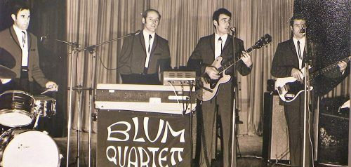 Das bekannte Blum-Quartett sorgte einst in zahlreichen Sälen im Land für beste Stimmung. Schaudepot Höchst