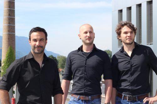 Das Cluevo-Team - Enver Sonbay, Christoph Gassner und Elias Berchtold - schloss eine internationale Kooperation ab. cluevo