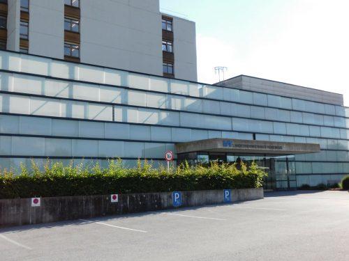 Das Landeskrankenhaus in Hohenems wurde im Jahr 2020 zum Vorarlberger Coronaspital.mima