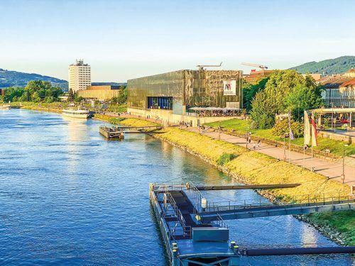 Das Lentos liegt in der Nähe des Hauptplatzes und direkt am Donauufer. Beate Rhomberg
