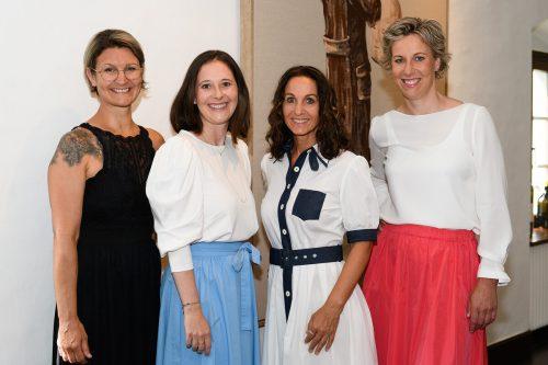 Das neue Vorstandsteam: v.l.n.r. Karin Peer, Andrea Längle, Karin Thurnher-Furtner und Carina Pollhammer.WKV/Sutter