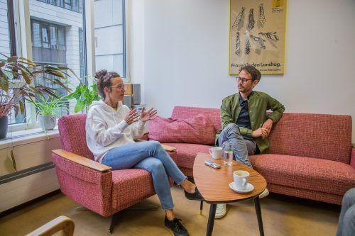 Das sehr ausführliche Interview mit Eva Hammerer und Daniel Zadra gibt es auf VN.at zu lesen. VN/Steurer