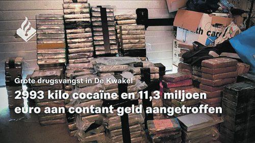 Den Fahndern gelang einer der größten Drogenfunde der Amsterdamer Polizei, sagte ein Sprecher. politie.nl