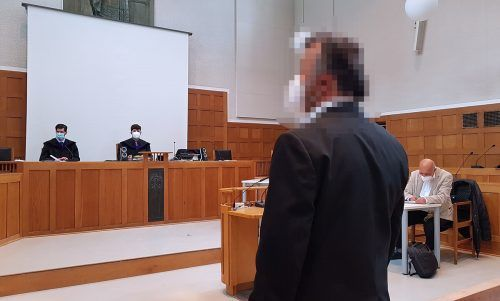 Der Angeklagte beteuerte vor Gericht, dass er nie einen der Buben zu sexuellen Handlungen gezwungen habe.eckert