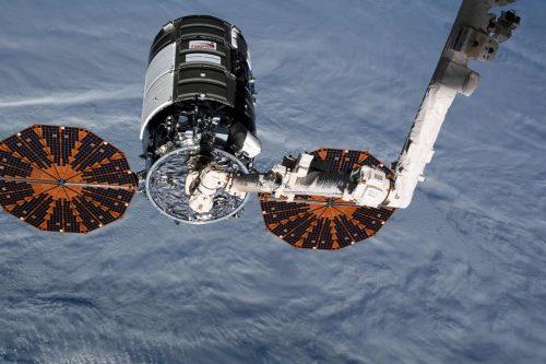 """Der """"Cygnus-Frachter"""" sollte bei Wiedereintritt in die Atmosphäre verglühen. AFP"""