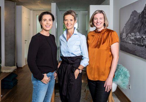 Der ESCOS-Vorstand ist weiblich: Doris Nußbaumer, Jeanette Moosbrugger und Veronika Alge (v.l.).ESCOS