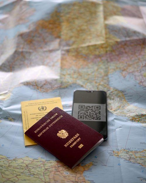 Der Grüne Pass verspricht weitere Erleichterungen von der Pandemie.apa