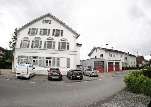 Der Masterplan umfasst das Zentrum von Gaißau bis zum Gemeindeamt und Feuerwehrgerätehaus sowie St.-Othmar-Weg. ajk
