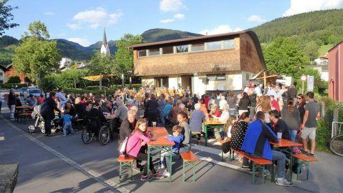 Der Musikverein Harmonie Weiler lädt zum Dämmerschoppen. Stöger