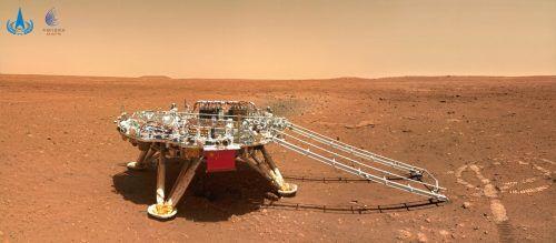Der Rover soll nach Spuren von früherem Leben auf dem Roten Planeten suchen. Reuters