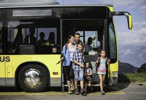 Der Sommerfahrplan beim Landbus Montafon wird an die aktuellen Coronabestimmungen angepasst.VVV
