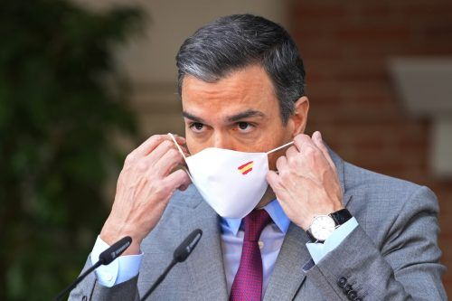 Der spanische Ministerpräsident Sánchez sprach von einer neuen Etappe des Dialogs. Seit Wochen wird über die Vorgangsweise kontrovers diskutiert. AP