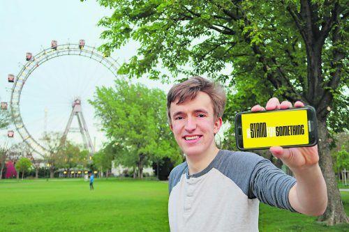 Der Vorarlberger Youth-Aktivist Dave Kock lebt aktuell in Wien. AHA