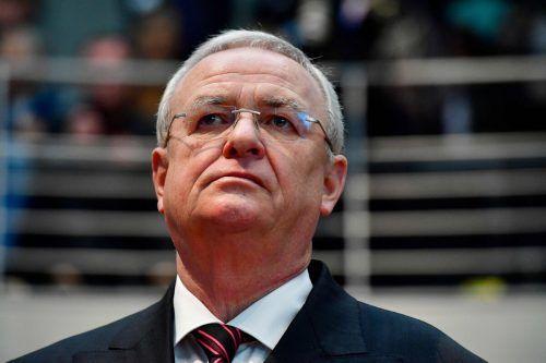 Derfrühere Volkswagen-Konzernchef Martin Winterkorn. afp