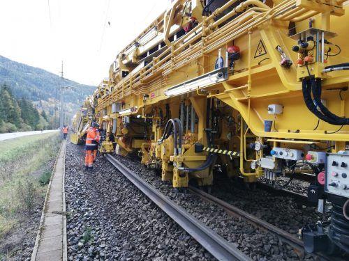 Die Arlbergbahnstrecke bleibt ab Montag für den Zugverkehr gesperrt. ÖBB