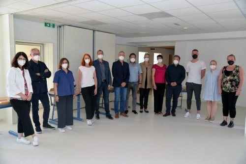 Die Assessorinnen und Assessoren der gemeinsamen Aufnahmeprüfung. Stadt Dornbirn