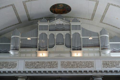 Die Behmann-Orgel wurde kürzlich erst saniert.lcf