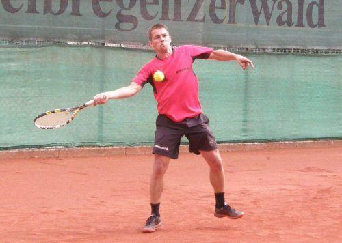 Die heurige Bregenzerwälder Mannschaftsmeisterschaft im Tennis befindet sich in der Schlussphase. siha/2