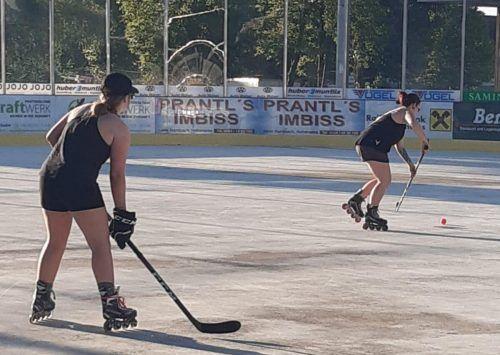 Die HSC-Damen bereiten sich auf die kommende Saison vor.MIMA
