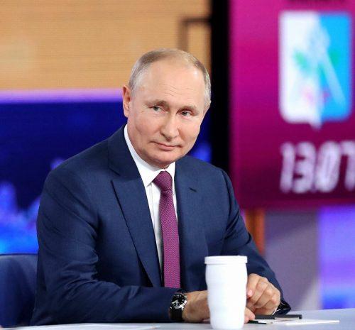 """""""Die Impfung ist ungefährlich"""", sagte der Kremlchef. AFP"""