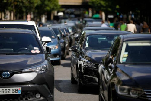 Die Luftqualität in Europa hat sich im Laufe des vergangenen Jahrzehnts unter anderem wegen Emissionsverringerungen im Verkehr verbessert. AFP