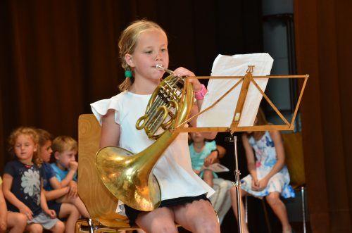 Die Musikschule Klostertal bietet heuer die Möglichkeit zur Schnupperstunde.DOB