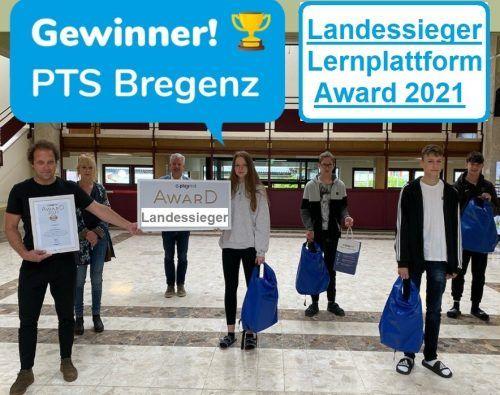 Die Polytechnische Schule Bregenz ist erneut die Nummer 1 in Vorarlberg bei den Playmit Awards 2020/21. pts Bregenz