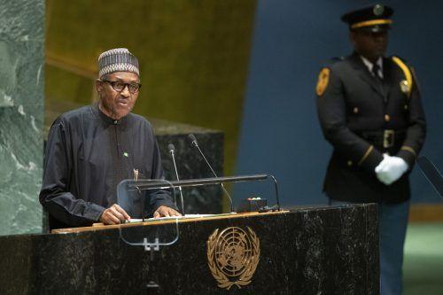 Die Sperre des Kurznachrichtendienstes Twitter in Nigeria soll nach Aussage von Präsident Muhammadu Buhari nur vorübergehend sein. AP
