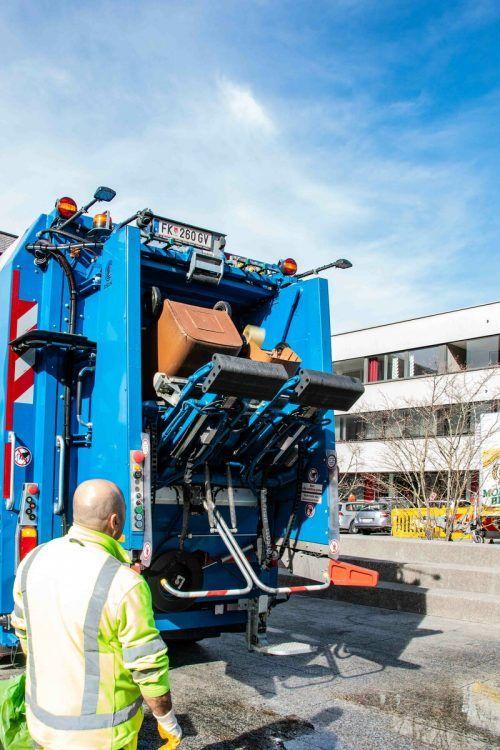 Die Stadt Hohenems bittet um rechtzeitiges Bereitstellen der Abfalltonnen und -säcke.