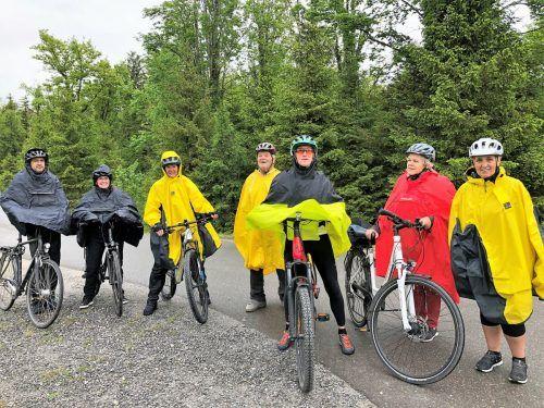 Die Teilnehmer der Pfingstradtour.kac Schwarzach