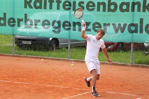 Die Wälder Tenniscracks spielen um den Mannschaftstitel. siha