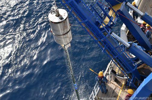 Die Wissenschafter wollen mit den gewonnenen Proben die Geschichte der Beben vor der Küste Japans rekonstruieren. T. Kanamatsu, ECORD/IODP/JAMESTEC