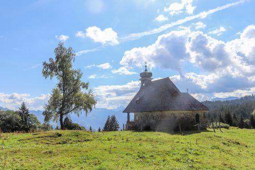 Dieses Foto der Kapelle hl. Benedikt in Schwarzenberg gelang VN-Leserin Gerlinde Gottschalk.
