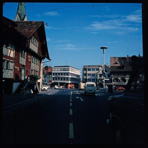 Dornbirn, Marktplatz, 1972