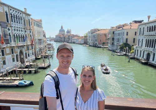 Ein Ausflug nach Venedig stand bei Stefan Haudum und seiner Freundin am Programm.VN